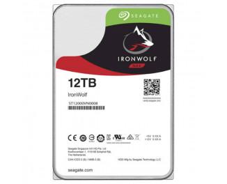 Жесткий диск 12 TB Seagate IronWolf (ST12000VN0008)