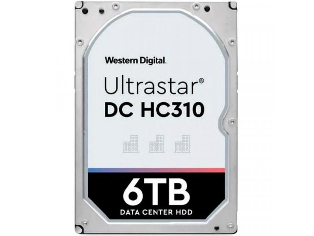 Жесткий диск 6 TB WD Ultrastar DC HC310 (0B36039 / HUS726T6TALE6L4)