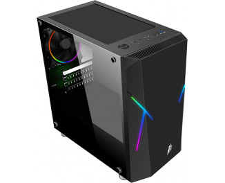 Корпус 1stPlayer R4-Firemoon-V2 RGB Black