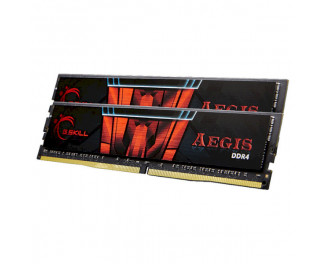 Оперативная память DDR4 16 Gb (2666 MHz) (Kit 8 Gb x 2) G.SKILL Aegis (F4-2666C19D-16GIS)