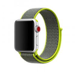 Нейлоновый ремешок для Apple Watch 38/40 mm Sport Loop /Flash