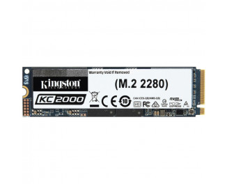 SSD накопитель 500Gb Kingston KC2000 NVMe PCle 3.0 4x 2280 (SKC2000M8/500G)