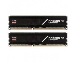 Оперативная память DDR4 8 Gb (2800 MHz) (Kit 4 Gb x 2) AMD Radeon R9 Gamer (R9S48G2806U1K)
