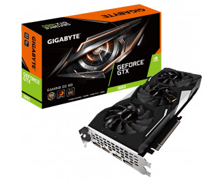 Видеокарта Gigabyte GeForce GTX 1660 GAMING OC 6G (GV-N1660GAMING OC-6GD)
