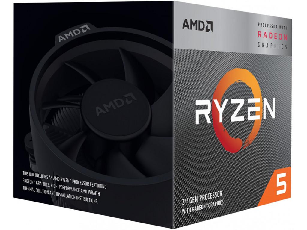 Процессор AMD Ryzen 5 3400G (YD3400C5FHBOX)