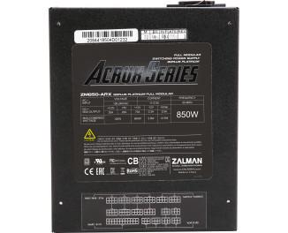 Блок питания 850W Zalman (ZM850-ARX)