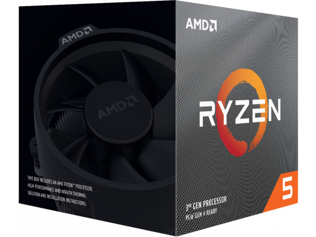 Процессор AMD Ryzen 5 3600X (100-100000022BOX)
