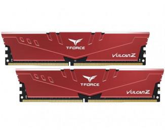 Оперативная память DDR4 16 Gb (3200 MHz) (Kit 8 Gb x 2) Team Vulcan Z Red (TLZRD416G3200HC16CDC01)
