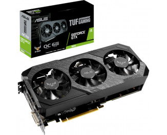 Видеокарта ASUS GeForce GTX 1660 OC edition 6GB (TUF3-GTX1660-O6G-GAMING)