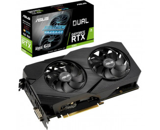 Видеокарта ASUS GeForce RTX 2060 Advanced Edition EVO 6GB (DUAL-RTX2060-A6G-EVO)