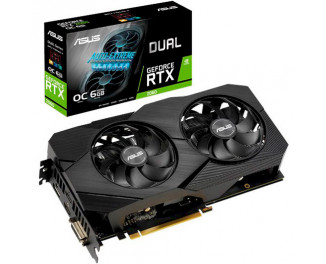 Видеокарта ASUS GeForce RTX 2060 OC Edition EVO 6GB (DUAL-RTX2060-O6G-EVO)