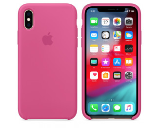 Чехол для Apple iPhone XS  Apple Silicone Case Dragon Fruit (MW9A2)