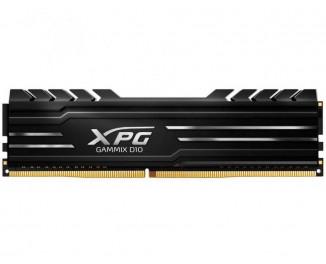 Оперативная память DDR4 8 Gb (2666 MHz) ADATA XPG Gammix D10 Black (AX4U266638G16-SBG)