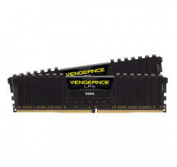 Оперативная память DDR4 16 Gb (3600 MHz) (Kit 8 Gb x 2) Corsair Vengeance LPX Black (CMK16GX4M2D3600C18)