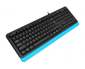 Клавиатура A4Tech FK10 Black/Blue USB