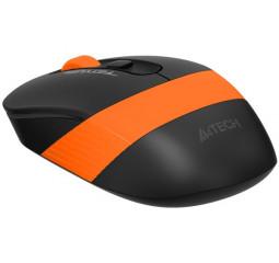 Мышь беспроводная A4Tech FG10 Black/Orange USB