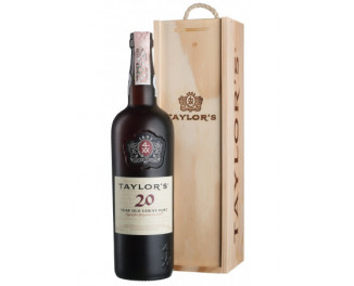Вино Taylor's 20 Year Old Tawny, gift box 0,75 л