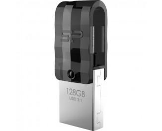 Флешка USB 3.1 128Gb Silicon Power C31 Silver (SP128GBUC3C31V1K)