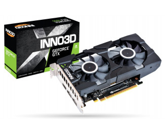 Видеокарта Inno3D GeForce GTX 1650 Twin X2 OC (N16502-04D5X-1510VA25)