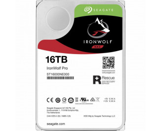Жесткий диск 16 TB Seagate IronWolf Pro (ST16000NE000)