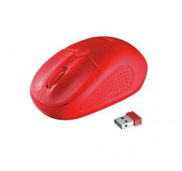 Мышь беспроводная Trust Primo Wireless Mouse Red (20787)