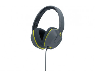 Наушники Skullcandy Crusher Gray/Hot Lime/Hot Lime Mic1 (S6SCGY-134)