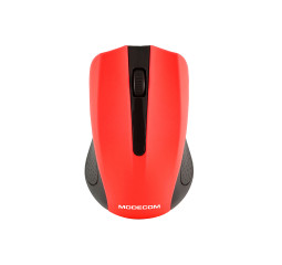 Мышь беспроводная Modecom MC-WM9 Black/Red (M-MC-0WM9-150)