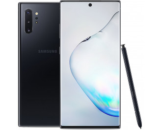 Смартфон Samsung Galaxy Note10+ 12/512Gb Aura Black (N9750) |Snapdragon Ver.|