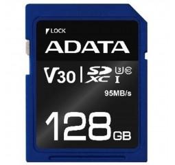 Карта памяти microSD 128Gb ADATA Premier Pro class 10 UHS-I U3 V30 (ASDX128GUI3V30S-R)