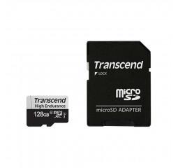Карта памяти microSD 128Gb Transcend High Endurance class 10 UHS-I U1 (TS128GUSD350V)