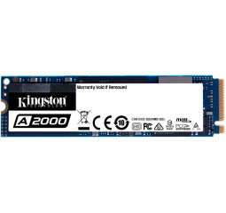 SSD накопитель 500Gb Kingston A2000 (SA2000M8/500G)