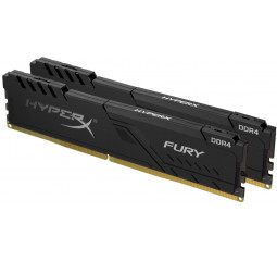 Оперативная память DDR4 16 Gb (3200 MHz) (Kit 8 Gb x 2) Kingston HyperX Fury Black (HX432C16FB3K2/16)