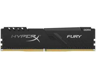 Оперативная память DDR4 8 Gb (2666 MHz) Kingston HyperX Fury Black (HX426C16FB3/8)