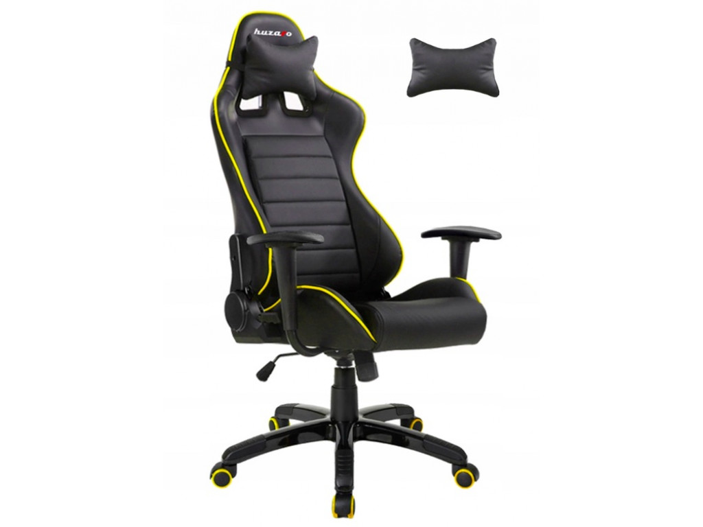 Игровое кресло huzaro Force Cushions 6.0 /Black & Yellow