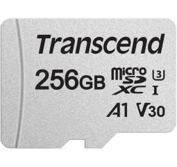 Карта памяти microSD 256Gb Transcend class 10 UHS-I (TS256GUSD300S-A)