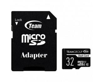 Карта памяти microSD 32Gb Team class 10 UHS-I (TDUSDH32GUHS03)