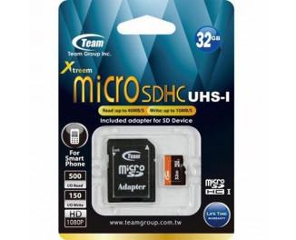 Карта памяти microSD 32Gb Team UHS-I (TUSDH32GUHS03)