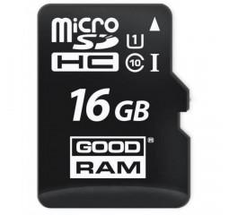 Карта памяти microSD 16Gb GOODRAM Class 10 (M1A0-0160R12)