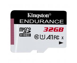 Карта памяти microSD 32Gb Kingston class 10 UHS-I U1 A1 High Endurance (SDCE/32GB)