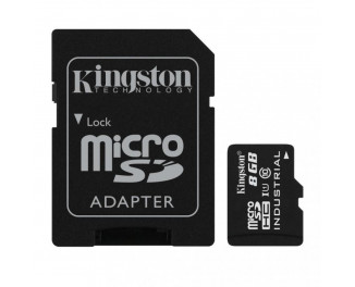 Карта памяти microSD 8Gb Kingston class 10 UHS-I Industrial (SDCIT/8GB)