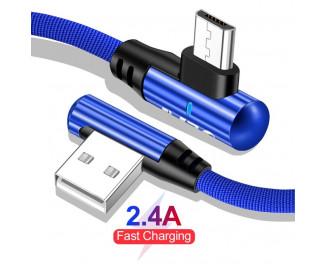 Кабель microUSB > USB  Olaf 90-Disign 1.0m /blue