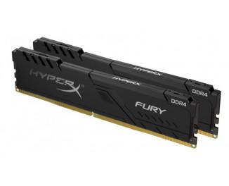 Оперативная память DDR4 32 Gb (3466 MHz) ( Kit 16 Gb x 2) Kingston HyperX Fury Black (HX434C16FB3K2/32)