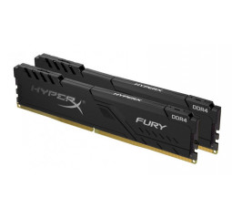 Оперативная память DDR4 16 Gb (2666 MHz) (Kit 8 Gb x 2) Kingston HyperX Fury Black (HX426C16FB3K2/16)