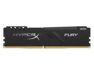Оперативная память DDR4 4 Gb (2666 MHz) Kingston HyperX Fury Black (HX426C16FB3/4)