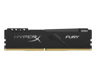 Оперативная память DDR4 8 Gb (2400 MHz) Kingston HyperX Fury Black (HX424C15FB3/8)