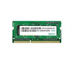 Память для ноутбука SO-DIMM DDR3L 4 Gb (1600 MHz) Apacer (AS04GFA60CAQBGJ)