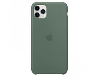 Чехол для Apple iPhone 11 Pro Max  Silicone Case /pine green