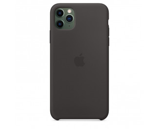 Чехол для Apple iPhone 11 Pro Max  Silicone Case /black