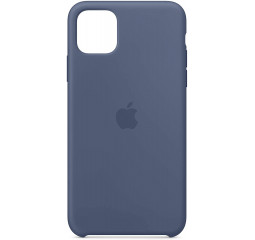 Чехол для Apple iPhone 11 Pro Max  Silicone Case /alaskan blue
