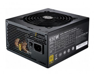 Блок питания 650W CoolerMaster MWE Gold (MPY-6501-AFAAG-EU)